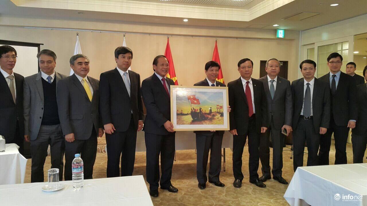 Thỏa thuận thành lập Nhóm công tác chung thúc đẩy hợp tác Việt - Nhật