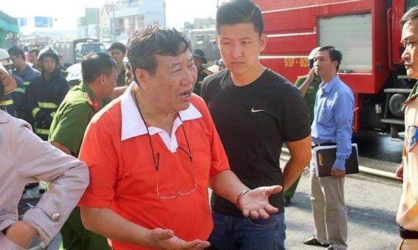 Cháy lớn ở Cần Thơ: Giám đốc người Đài Loan lên tiếng