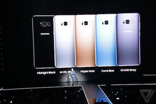 [VietnamNet.vn] Galaxy S8/S8 Plus ra mắt, màn hình vô cực, siêu bảo mật, giá 720USD
