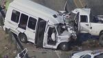 Hai ôtô đấu đầu ở Texas, hàng chục người chết