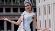 Bị tước danh hiệu, Nguyễn Thị Thành vẫn đi thi sắc đẹp quốc tế