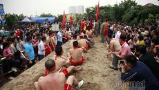 Độc đáo hội thi kéo co ngồi ở Hà thành