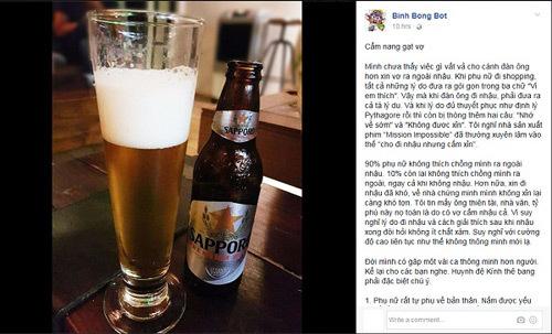 Trải nghiệm bia ngon: thú vui mới của đàn ông Việt