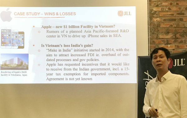 Việt Nam tuột mất 1 tỷ USD từ Apple