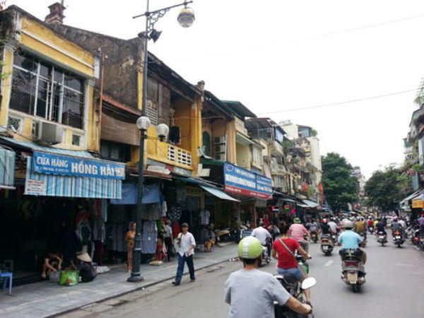 dọn dẹp vỉa hè, vỉa hè Hà Nội, buôn bán vỉa hè, nhà đất phố cổ, nhà phố cổ, bất động sản phố cổ, cho thuê nhà phố cổ, Hà nội