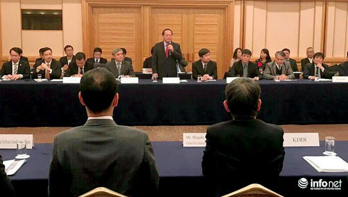 Bộ trưởng Trương Minh Tuấn tham dự Diễn đàn DN ICT Nhật-Việt