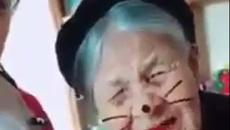 Khi bà ngoại 97 tuổi quay clip 'xì tin' cùng cháu gái