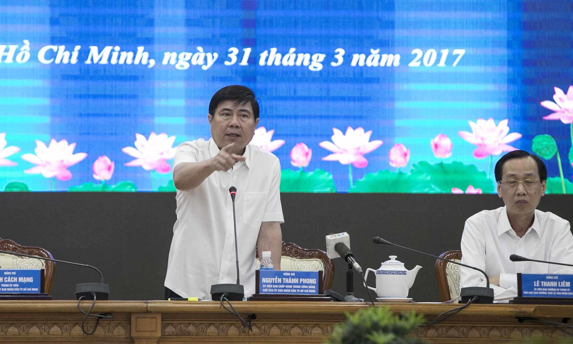 sáp nhập Thủ Đức, sáp nhập quận, thành phố Thủ Đức, Nguyễn Thành Phong, chủ tịch TP.HCM