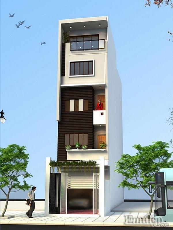 Xây nhà 31m2 bốn tầng rộng thoải mái chỉ với 850 triệu đồng