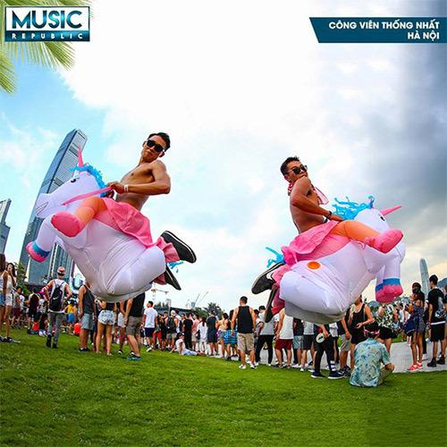 Music Republic: đại hội âm nhạc 'đốt nóng' mùa hè 2017
