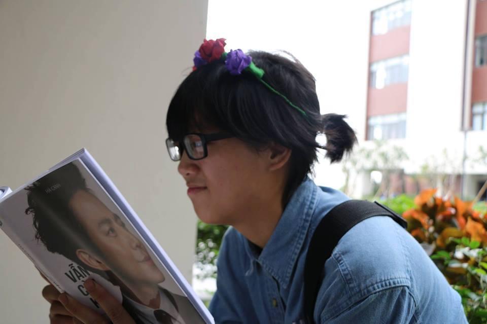 học tiếng Anh, nữ sinh