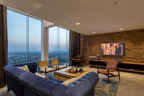 penhouse, thiết kế nhà, doanh nhân, thiết kế căn hộ