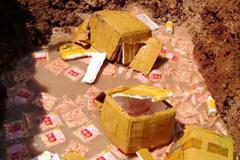 Bắt vụ vận chuyển hơn 400kg thịt gân gà ở cửa khẩu Lao Bảo