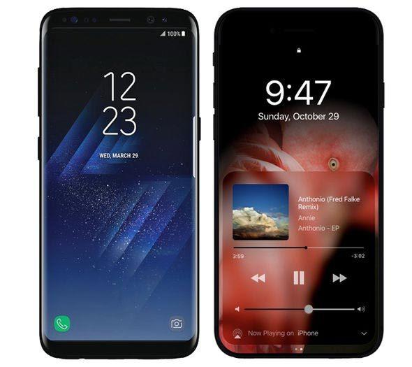 Những điểm iPhone 8 cần có để đánh bại Galaxy S8