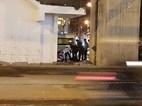 Nam thanh niên rơi từ công trường đường sắt trên cao Cát Linh-Hà Đông