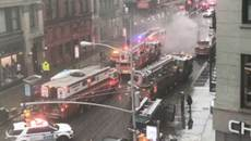 Nổ lớn rung chuyển New York đúng giờ cao điểm