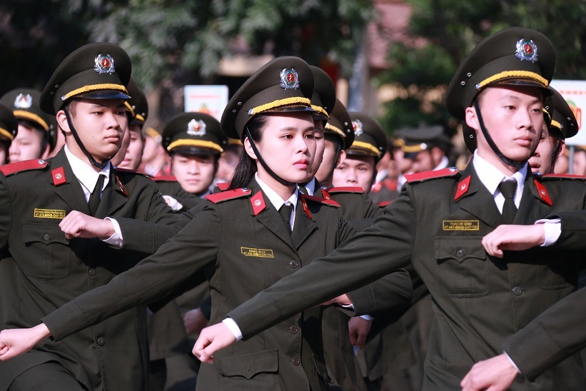 Học viện An ninh nhân dân, sinh viên