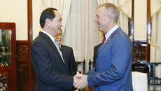 Tổng thống Trump gửi thư cho Chủ tịch nước Trần Đại Quang