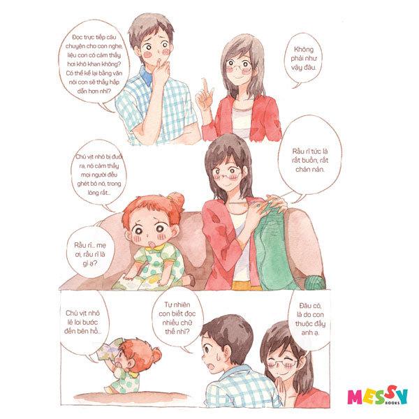 'Người mẹ tốt hơn người thầy tốt' phiên bản truyện tranh