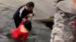 Người hùng giải cứu cô gái nguy kịch dưới hồ