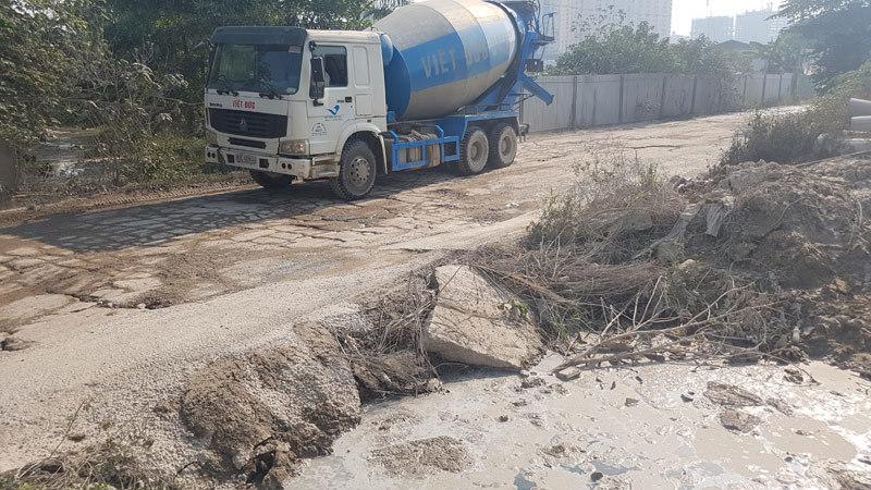 Hà Nội cưỡng chế tháo dỡ 25 trạm trộn bê-tông sát Thiên đường