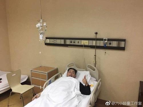 'Tôn Ngộ Không' Lục Tiểu Linh Đồng nhập viện khẩn
