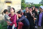 Quê nhà đón bé bị sát hại ở Nhật ngập nước mắt