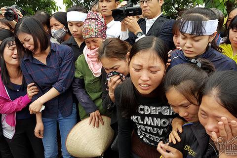 Tang lễ cháu bé bị sát hại ở Nhật