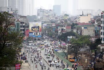 Hà Nội xây đường trên cao trục Trường Chinh