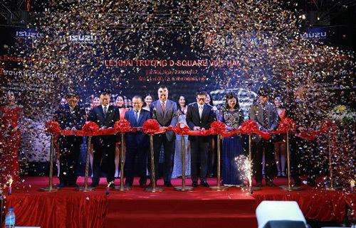 Isuzu khai trương Đại lý D Square Việt Hải tại Hà Nội