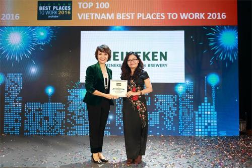Heineken - Top 10 nơi làm việc tốt nhất Việt Nam