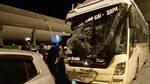 Xe khách đâm đuôi xe tải trên cao tốc, một người chết