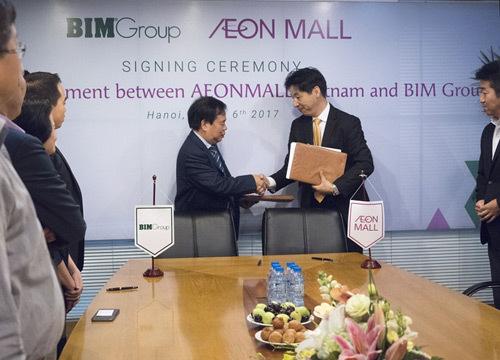 BIM Group: đối tác 'vàng' của Aeon Mall Việt Nam