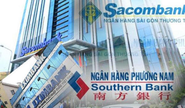 Sacombank, Eximbank, SouthernBank, tái cấu trúc ngân hàng, tái cơ cấu ngân hàng, thâu tóm Sacombank, Đặng Văn Thành, Trầm Bê, Lê Hùng Dũng, nợ xấu ngân hàng, Lê Minh Hưng, Ngân hàng Nhà nước