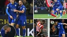 Vardy lập đại công, Leicester thắng trận thứ 5 liên tiếp