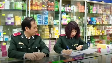Hà Nội: Phát hiện nhiều sai phạm trong kinh doanh dược phẩm