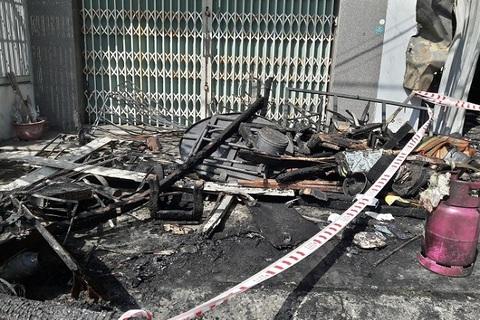 Hiện trường vụ cháy nghiêm trọng khiến 3 người chết ở Đà Nẵng
