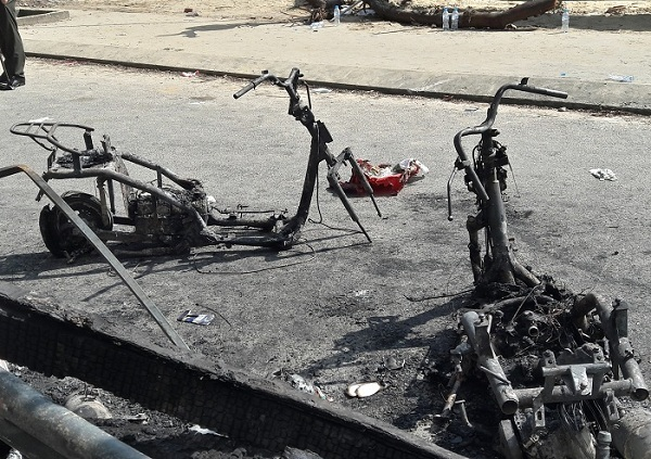 Cháy nhà trong đêm, 3 người phụ nữ thiệt mạng