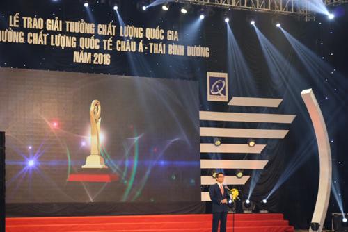 Gốm Đất Việt nhận giải Vàng Chất lượng Quốc gia