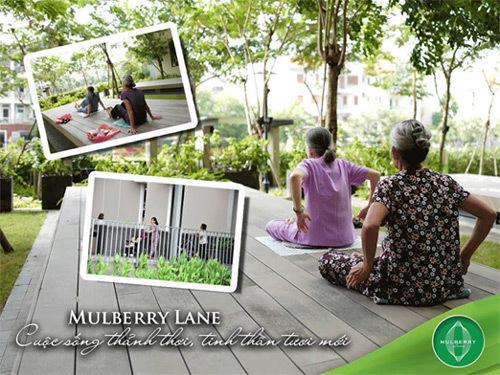 Mulberry Lane: góc Singapore giữa lòng Hà Nội