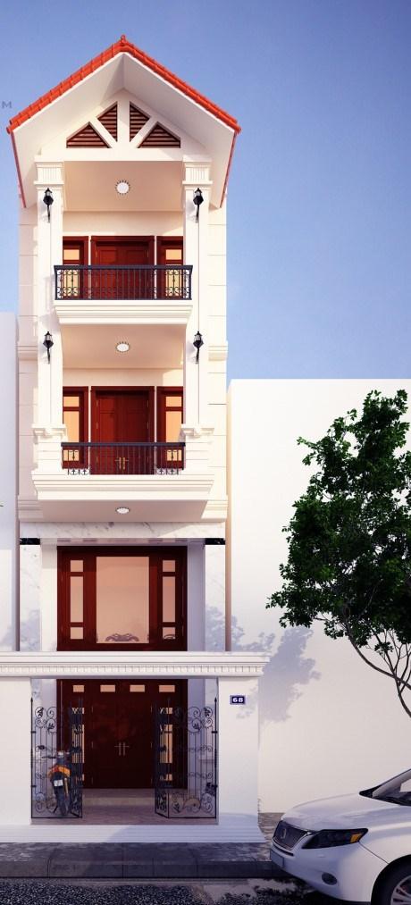 tư vấn thiết kế nhà, xây nhà ống tân cổ điển, chi phí xây dựng nhà ống