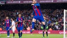 Messi lập cú đúp, Barca hạ đẹp Sevilla