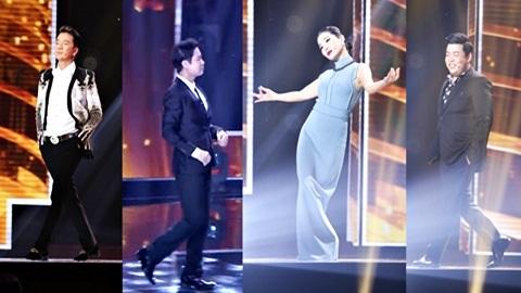 Chết cười xem Quang Lê, Ngọc Sơn catwalk 'lả lướt' ở Thần tượng Bolero
