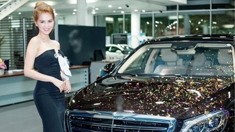 Ngọc Trinh sắm siêu xe hơn 14 tỷ đồng