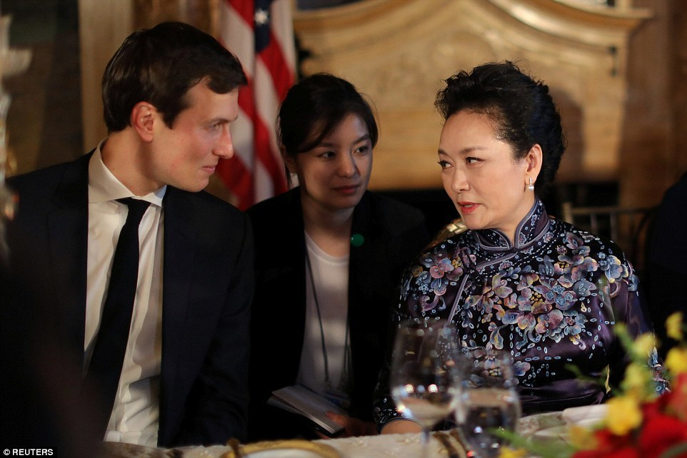 Ivanka Trump, Donald Trump, chủ tịch Trung Quốc, Tập Cận Bình, Bành Lệ Viện
