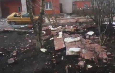 Nổ lớn tại chung cư ở St.Petersburg