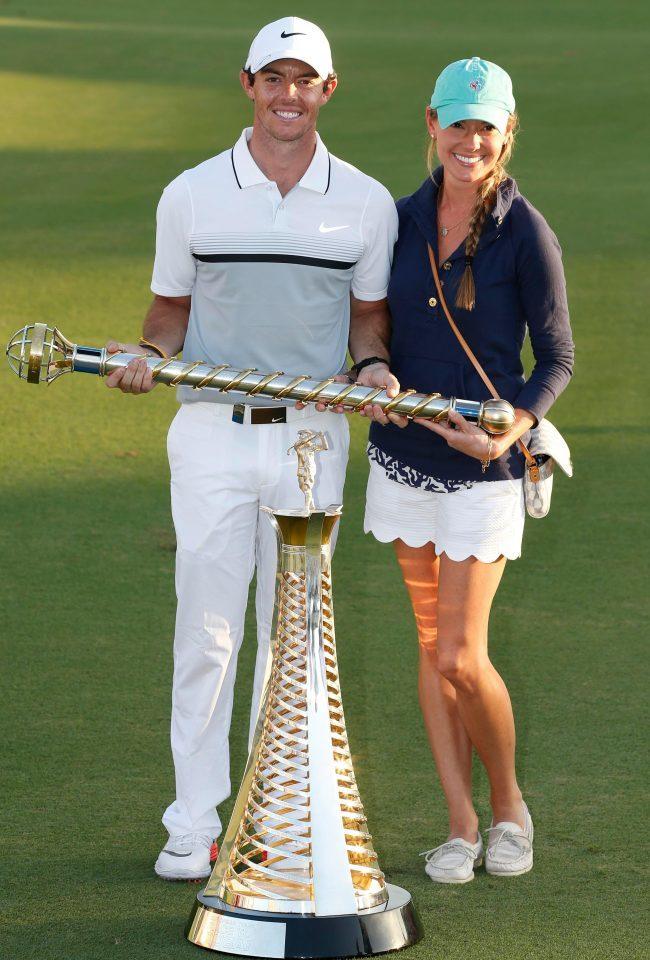 Bóng hồng giúp golf thủ số 1 thế giới thăng hoa