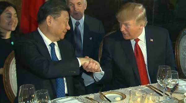 Tổng thống Trump hài hước với ông Tập Cận Bình