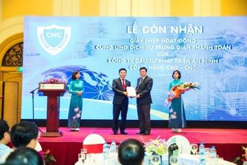 CNC nhận giấy phép cổng thanh toán điện tử