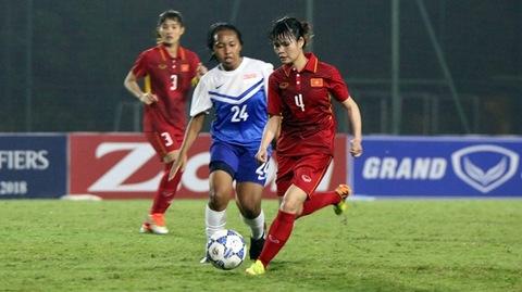 Vũ Thị Nhung ghi bàn phút 35